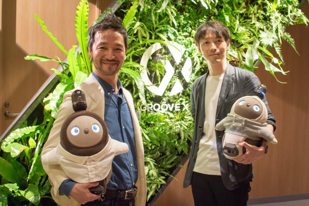 Groove X CEO - Kaname Hayashi and Daiki Sugita